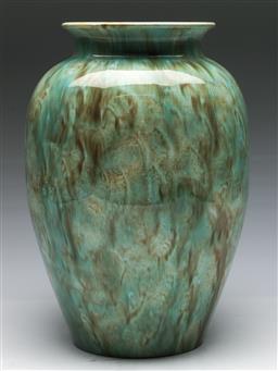 Sale 9138 - Lot 16 - A Large Light Glazed Regal Mashman Vase (H:35cm)