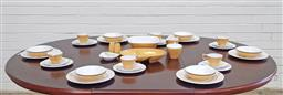 Sale 9151 - Lot 1041 - Vintage Basdonware Wheat Sheaf 43 piece dinner service for 6