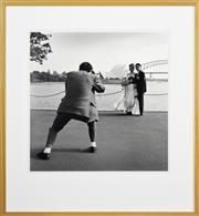 Sale 8330A - Lot 104 - Rex Dupain (1954 - ) - Japanese Wedding, 1996 48.5 x 48cm (frame size 76.5 x 70.5cm)
