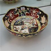 Sale 8306 - Lot 20 - Mason Imari Pattern Footed Dish