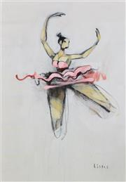 Sale 8358 - Lot 586 - Anthony Lister (1980 - ) - Ballerina 130 x 92cm