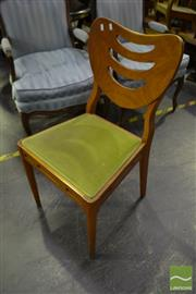 Sale 8472 - Lot 1080 - Set of 6 Maple Vintage Dining Chairs