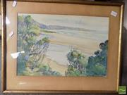 Sale 8513 - Lot 2038 - Artist Unknown - Punakaiki Beach 30 x 44cm