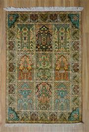 Sale 8559C - Lot 81 - Kashmiri Silk 180cm x 120cm