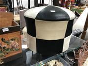 Sale 8889 - Lot 1055 - Leather Footstool