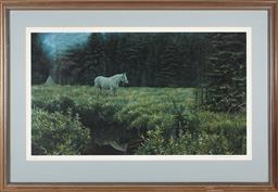 Sale 9097H - Lot 92 - Robert Bateman print signed ARTISTS PROOF 53/56 Hebert Frame size H-72cm X107cm