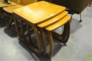 Sale 8287 - Lot 1043 - G-Plan Teak Nest of Tables