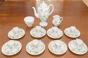 Sale 8346A - Lot 2 - A Wedgwood wild strawberry pattern coffee service, for 8