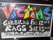Sale 8557 - Lot 2074 - Toby Zoates - The Victims (Garibaldis Rags), 1980 42.5 x 63.5cm