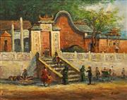 Sale 8622 - Lot 2038 - Artist Unknown - Beijing Temple, 50 x 60cm