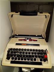 Sale 8668 - Lot 2095 - Vintage Brother Typewriter