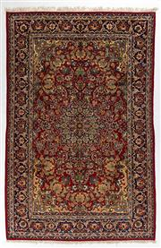 Sale 8740C - Lot 30 - A Persian Esfahan From Isfahan Region 100% Wool Pile On Cotton Foundation, 383 x 265cm