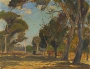 Sale 9084 - Lot 568 - Will Ashton (1881 - 1963) - Landscape, 1909 26.5 x 34.5 cm (frame: 42 x 50 x 3 cm)