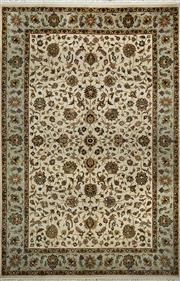 Sale 8353C - Lot 22 - Afghan Silk & Wool 280cm x 187cm