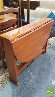 Sale 8390 - Lot 1580 - Gate Leg Drop Side Table