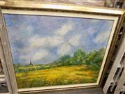 Sale 8433 - Lot 2054 - Artist Unknown (XX) - Summer Pastures 111 x 136cm