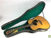 Sale 8648A - Lot 49 - Yamaha FG180 Acoustic Guitar, in case