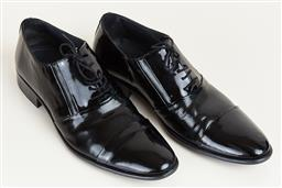 Sale 9120K - Lot 87 - A pair of Net York mens patent leather dress shoes; size 43