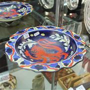 Sale 8306 - Lot 12 - Wardle Dragon Dish