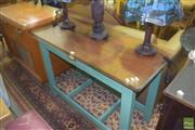 Sale 8390 - Lot 1164 - Timber Hall Table with Single Drawer