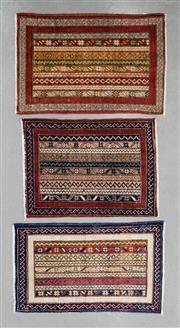 Sale 8499C - Lot 58 - 3 x Afghan Ariana 90cm x 60cm