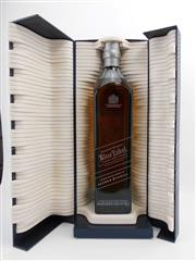 Sale 8514 - Lot 1717 - 1x Johnnie Walker Blue Label Blended Scotch Whisky - limited edition design by Alfred Dunhill, 700ml in box