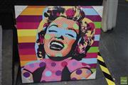 Sale 8541 - Lot 2100 - Marilyn Monroe, giclee on canvas, 50 x 50cm