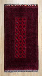 Sale 8559C - Lot 84 - Afghan Qunduzi 193cm x 100cm