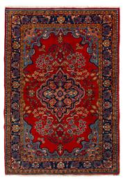 Sale 8715C - Lot 105 - A Persian Hamadan Classed As Village Rugs, Wool On Cotton Foundation, 250 x 170cm