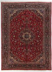Sale 8740C - Lot 32 - A Persian Kashan From Isfahan Region 100% Wool Pile On Cotton Foundation, 402 x 297cm