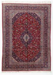 Sale 8760C - Lot 31 - A Persian Kashan From Isfahan Region 100% Wool Pile On Cotton Foundation, 390 x 285cm
