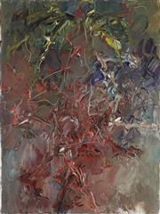 Sale 8901 - Lot 541 - Chen Ping (1962 - ) - Red Flower Trees, 2011 122.5 x 91.5 cm