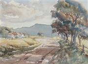 Sale 8867A - Lot 5078 - Mary Elisabeth (May) Neill - Cool Shadows at Jamberoo 44 x 32cm