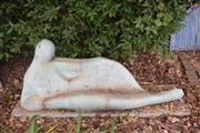 Sale 8950G - Lot 17 - A GRC sculpture R1.7m long 70cm Height