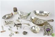 Sale 8521 - Lot 126 - HMSS Collection Including Trays, Teaspoons, Hairbrush, Figures And Others