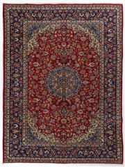 Sale 8740C - Lot 33 - A Persian Najafabad From Isfahan Region 100% Wool Pile On Cotton Foundation, 395 x 297cm