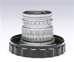 Sale 9093 - Lot 12 - A Ernst Leitz Summicron Lens (f=5cm,1:2)