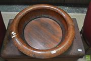 Sale 8310 - Lot 1611 - Vintage Chinese Bowl (cert. of authenticity to base)