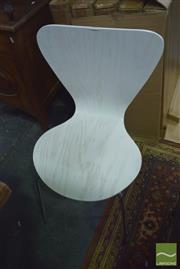 Sale 8390 - Lot 1158 - Set of 6 Ant Style Dining Chairs