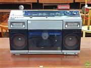 Sale 8421 - Lot 1079 - Sharp VZ-2000 Boom Box (missing power button)