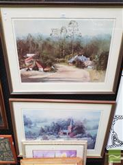 Sale 8449 - Lot 2005 - John Vander, Pair of Framed Limited Edition Prints, each signed