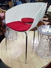 Sale 8669 - Lot 1079 - Set of 4 Sintesi Orbit Chairs
