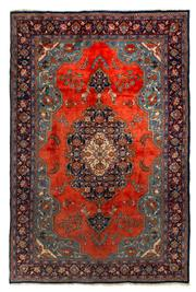 Sale 8780C - Lot 224 - A Persian Najafabad From Isfahan Region 100% Wool Pile On Cotton Foundation, 322 x 212cm