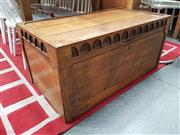 Sale 8822 - Lot 1193 - Timber Lift Top Trunk