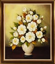 Sale 8871H - Lot 107 - EVELYN BAXTER (1926 - 1979) - Floral 61 x 50cm