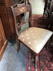 Sale 8868 - Lot 1559 - Regency Mahogany Dining Chair