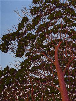 Sale 9084 - Lot 515 - Graham Hallett - Into the Trees, 2006 60 x 45 cm (frame: 95 x 78 x 3 cm)