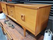 Sale 8801 - Lot 1057 - 1960s Portwood Teak Sideboard