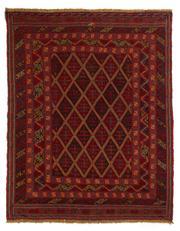 Sale 8715C - Lot 134 - A Persian Meshvani Village Rug, Wool On Cotton Foundation Classed As Tribal Sumak, 190 x 148cm