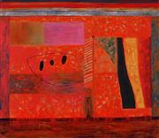 Sale 8839A - Lot 5009 - William (Bill) Ferguson (1932 - ) - Encounter, 2009 70 x 80cm